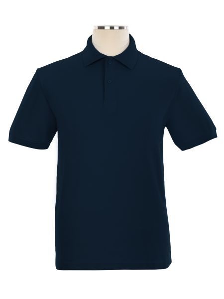 Short Sleeve Pique Embroidered Golf Shirt - Unisex