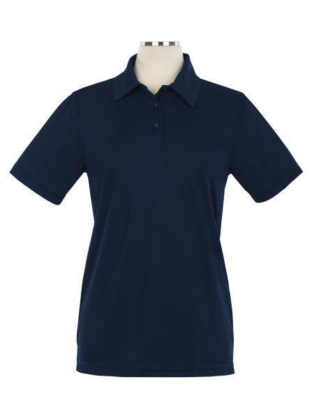 Short Sleeve Performance Embroidered Golf Shirt - Female