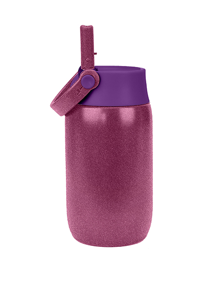 Pivot Mini Water Bottle - Pink Glitter 10 oz