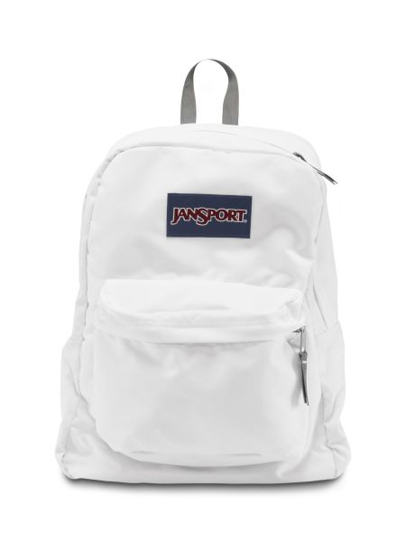 SUPERBREAK - JANSPORT KNAPSACK - in White
