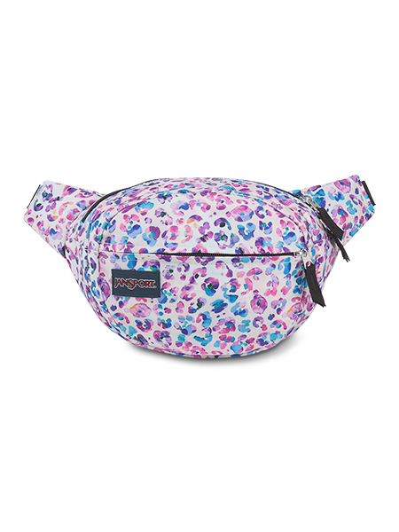 'FIFTH AVENUE' - JANSPORT Waist Bag - in Leopard Dots
