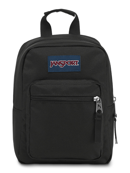'BIG BREAK' - Jansport Lunch Bag in Black