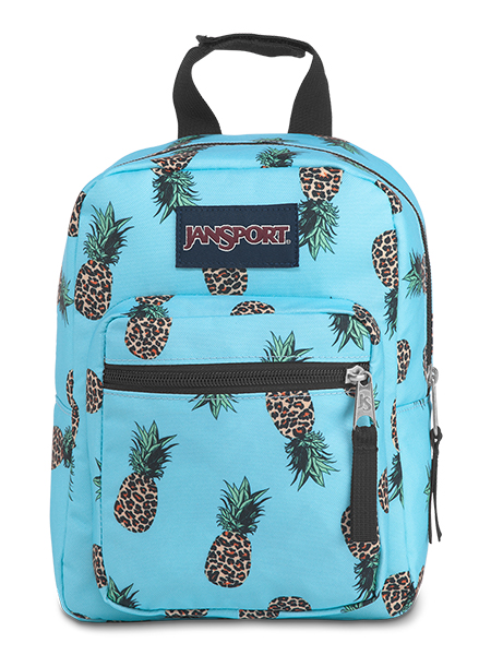 'BIG BREAK' - Jansport Lunch Bag in Leopard Pineapples