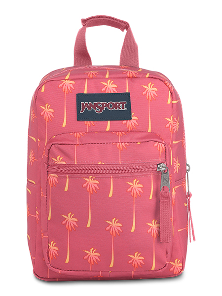 'BIG BREAK' - Jansport Lunch Bag in Palm Icons