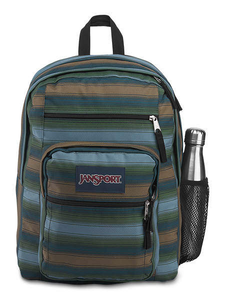 'BIG STUDENT' - Jansport Knapsack - in Surfside Stripe