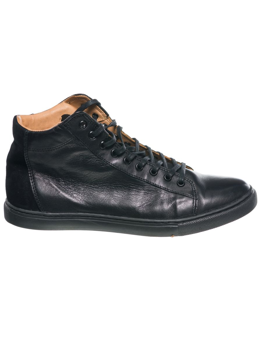 Mid Cut Sneaker, 100% Upper & Inner Leather Lining - Male